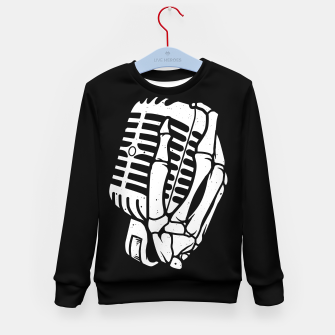 Thumbnail image of Death Singer Kid's sweater, Live Heroes
