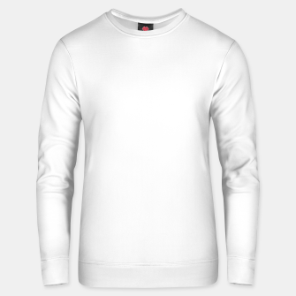 Thumbnail image of Solid Bright White  Unisex sweater, Live Heroes