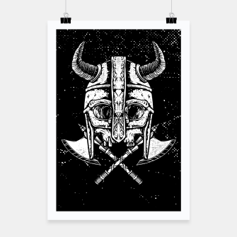 Miniatur Death Viking Poster, Live Heroes