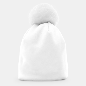 Miniaturka Solid Bright White  Beanie, Live Heroes