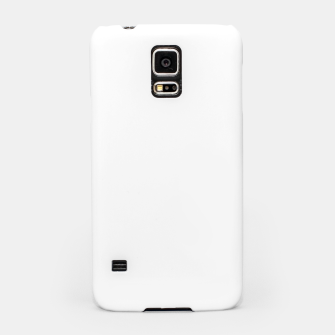 Miniaturka Solid Bright White  Samsung Case, Live Heroes