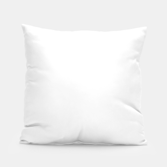 Thumbnail image of Solid Bright White  Pillow, Live Heroes