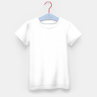 Thumbnail image of Solid Bright White  Kid's t-shirt, Live Heroes