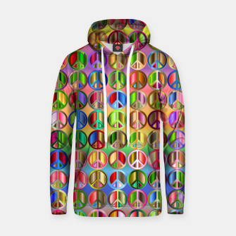 Thumbnail image of Colorfull peace Hoodie, Live Heroes