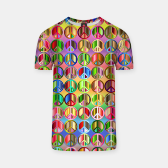 Thumbnail image of Colorfull peace T-shirt, Live Heroes