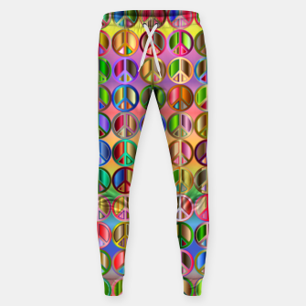 Thumbnail image of Colorfull peace Sweatpants, Live Heroes
