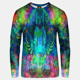 Miniaturka Sweet Dizzy Skull (psychedelic, abstract) Unisex sweater, Live Heroes
