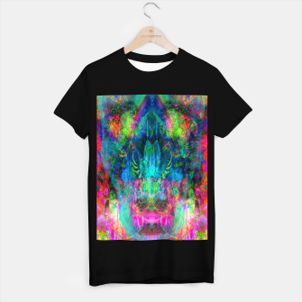 Miniaturka Sweet Dizzy Skull (psychedelic, abstract) T-shirt regular, Live Heroes