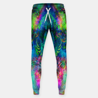 Miniaturka Sweet Dizzy Skull (psychedelic, abstract) Sweatpants, Live Heroes