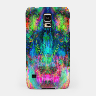 Thumbnail image of Sweet Dizzy Skull (psychedelic, abstract) Samsung Case, Live Heroes