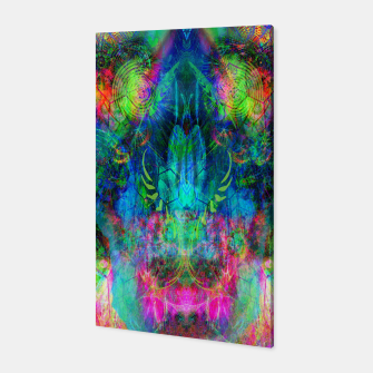 Miniaturka Sweet Dizzy Skull (psychedelic, abstract) Canvas, Live Heroes