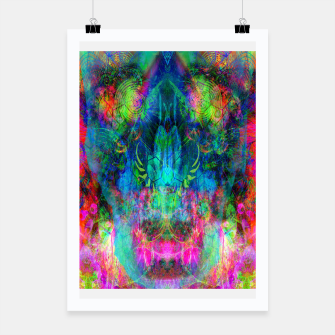Thumbnail image of Sweet Dizzy Skull (psychedelic, abstract) Poster, Live Heroes