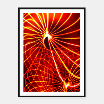 Thumbnail image of Spiral Framed poster, Live Heroes