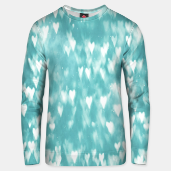 Thumbnail image of Hearts Unisex sweater, Live Heroes
