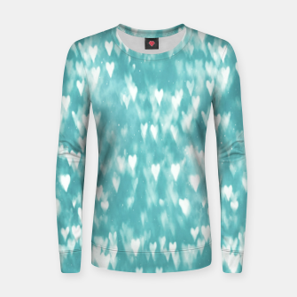 Thumbnail image of Hearts Women sweater, Live Heroes