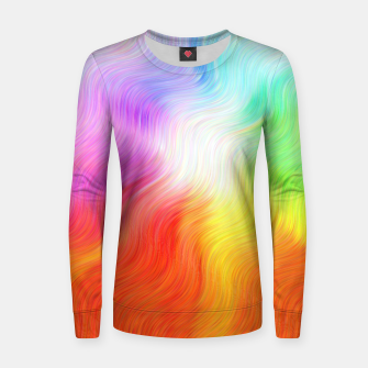 Thumbnail image of Psychedelic waves Women sweater, Live Heroes