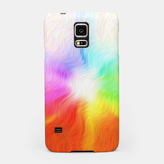 Miniatur Psychedelic waves Samsung Case, Live Heroes