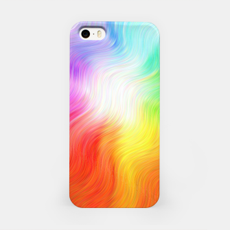 Thumbnail image of Psychedelic waves iPhone Case, Live Heroes