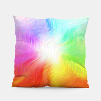 Miniatur Psychedelic waves Pillow, Live Heroes