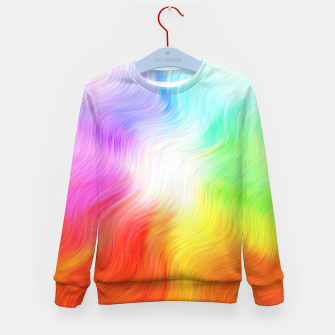 Miniatur Psychedelic waves Kid's sweater, Live Heroes