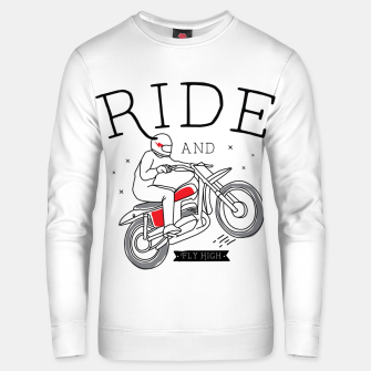 Miniatur Ride and Fly High Unisex sweater, Live Heroes