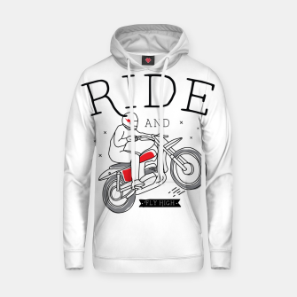 Miniatur Ride and Fly High Hoodie, Live Heroes