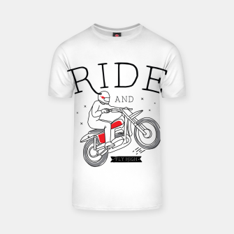 Miniatur Ride and Fly High T-shirt, Live Heroes