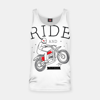 Miniatur Ride and Fly High Tank Top, Live Heroes
