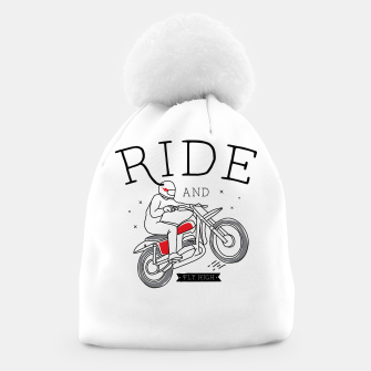 Miniatur Ride and Fly High Beanie, Live Heroes