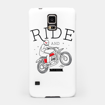 Miniatur Ride and Fly High Samsung Case, Live Heroes