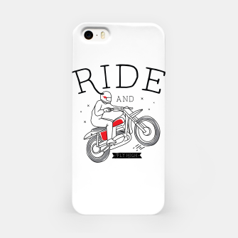 Miniatur Ride and Fly High iPhone Case, Live Heroes