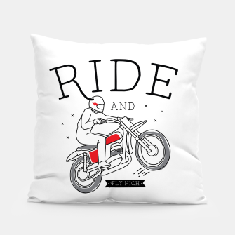 Miniatur Ride and Fly High Pillow, Live Heroes