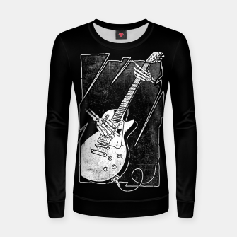 Thumbnail image of Guitarist Women sweater, Live Heroes