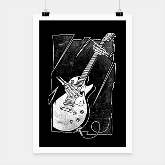 Thumbnail image of Guitarist Poster, Live Heroes