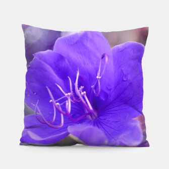 Thumbnail image of Melancholy violet by #Bizzartino Pillow, Live Heroes