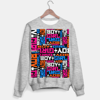 BOY + GIRL Sweater regular Bild der Miniatur