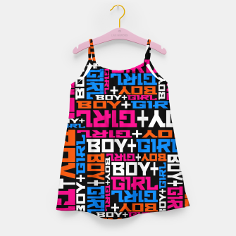 BOY + GIRL Girl's dress Bild der Miniatur