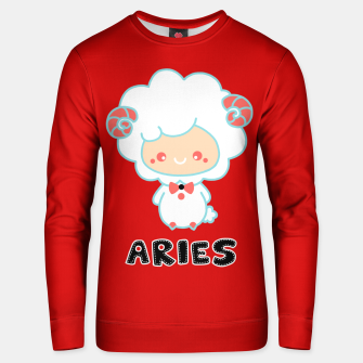 Thumbnail image of aries Unisex sweater, Live Heroes