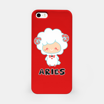 Thumbnail image of aries iPhone Case, Live Heroes