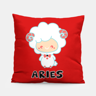 Thumbnail image of aries Pillow, Live Heroes