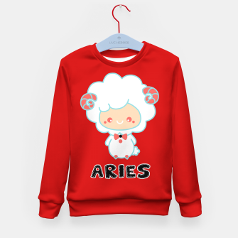 Thumbnail image of aries Kid's sweater, Live Heroes