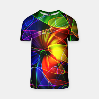Thumbnail image of Psychedelic Fractal T-shirt, Live Heroes