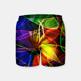 Thumbnail image of Psychedelic Fractal Swim Shorts, Live Heroes