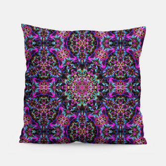 Miniaturka Neon Psychedelic Mandala I Pillow, Live Heroes