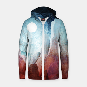 Thumbnail image of A rocky World Zip up hoodie, Live Heroes