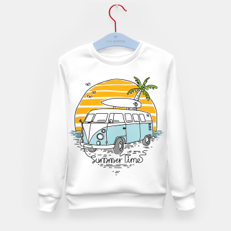 Thumbnail image of Summer Time Kid's sweater, Live Heroes