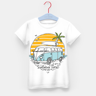Thumbnail image of Summer Time Kid's t-shirt, Live Heroes