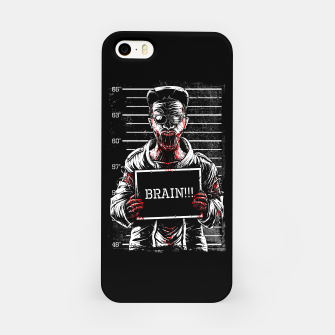 Thumbnail image of Zombie Mugshot iPhone Case, Live Heroes