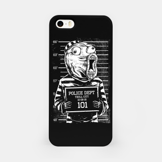 Miniatur LOL Mugshot iPhone Case, Live Heroes