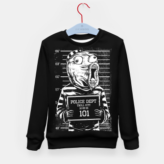 Thumbnail image of LOL Mugshot Kid's sweater, Live Heroes
